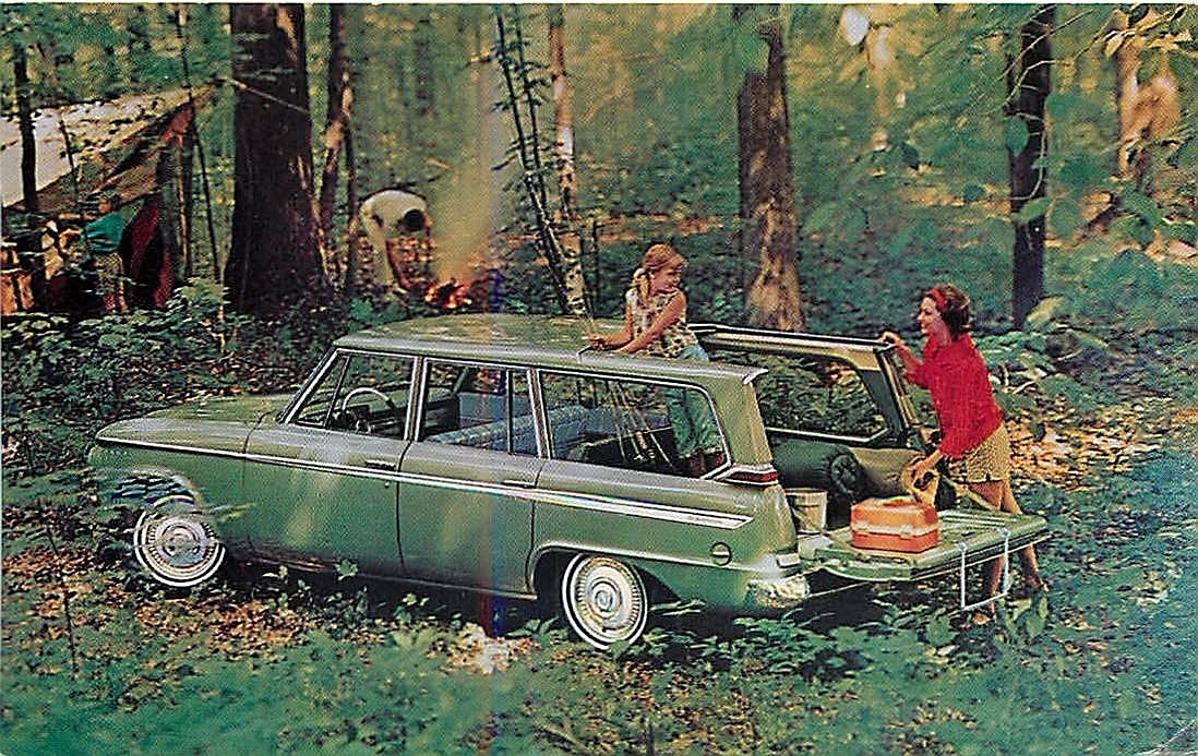 Baby Boomer Alert How Many Remember The 1963 Station Wagon Convertible